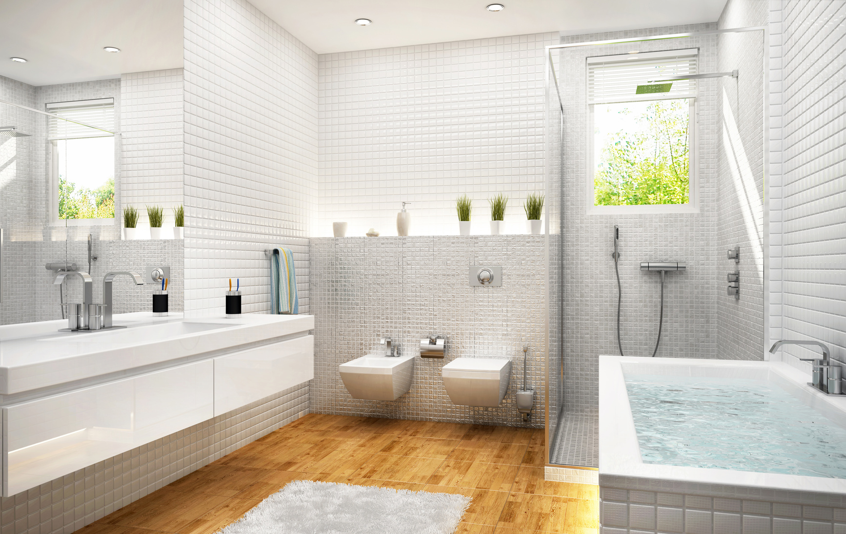 Edles für Badezimmer – Parkett in Sanitärräumen - Hartmann